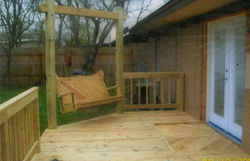 Backyard Deck/Swing