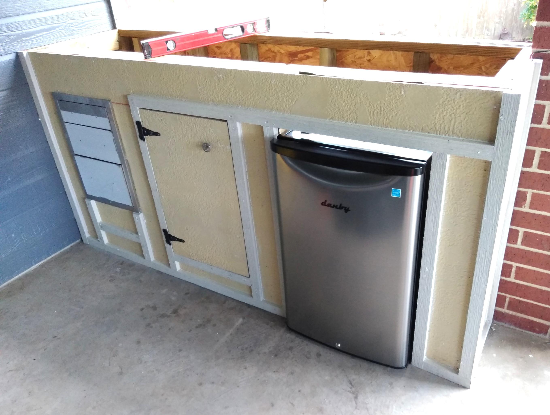 Custom Outside Cabinet