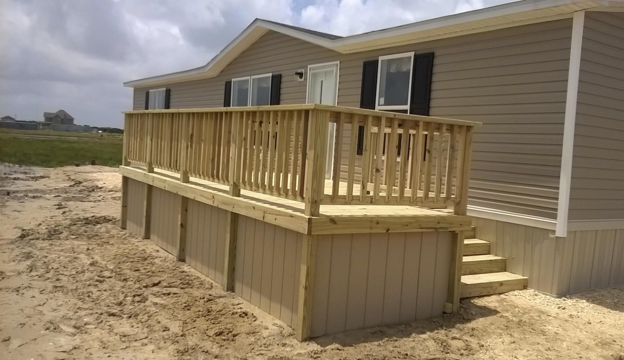 Frontyard Deck