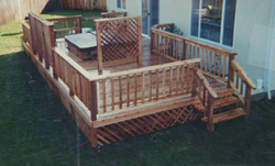Backyard/Pool Deck