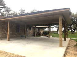 Carport/Cement Work