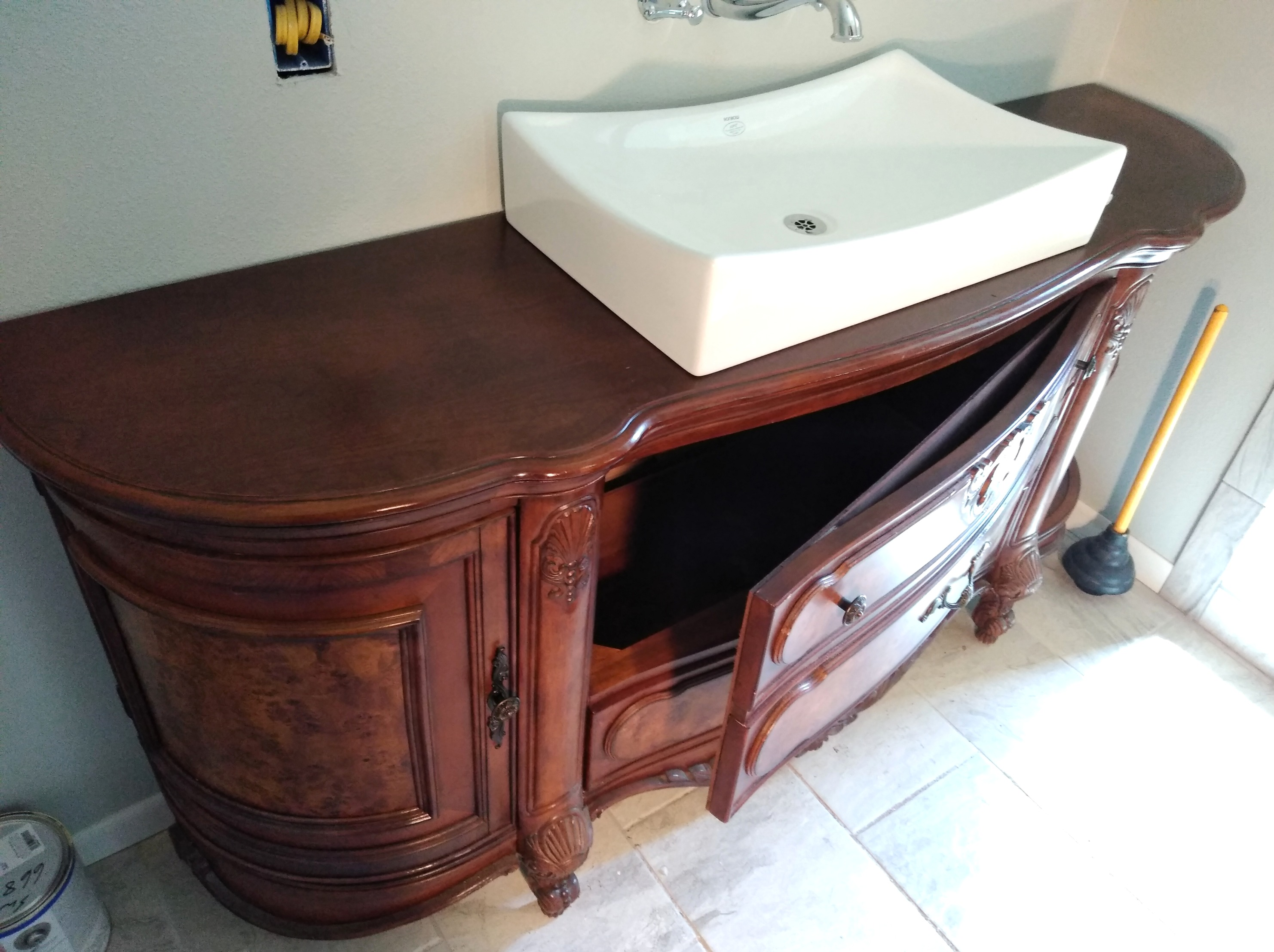 Custom Sink Installation