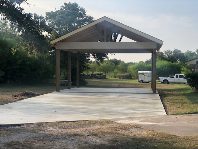 Open Gable Carport