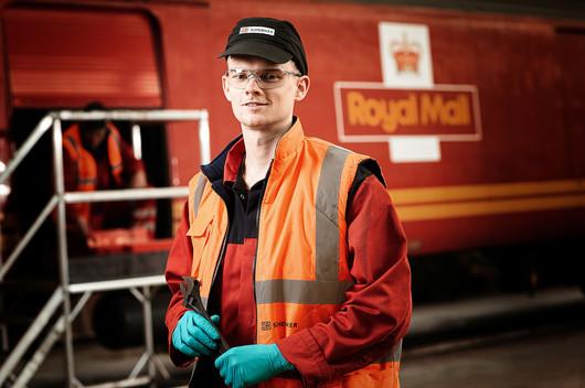 Train maintenance technician
