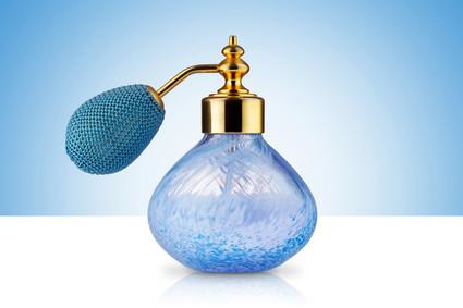 Scottish Caithness Art Glass Perfume Atomiser Bottle