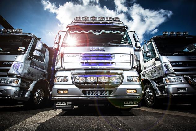 DAF Truck Editorial shoot
