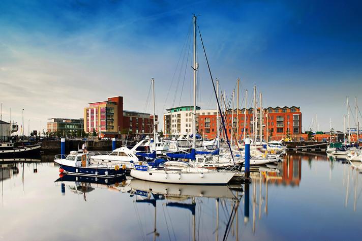 Hull Marina, East Yorkshire