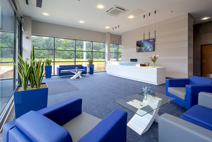 Interior Reception Design Photography