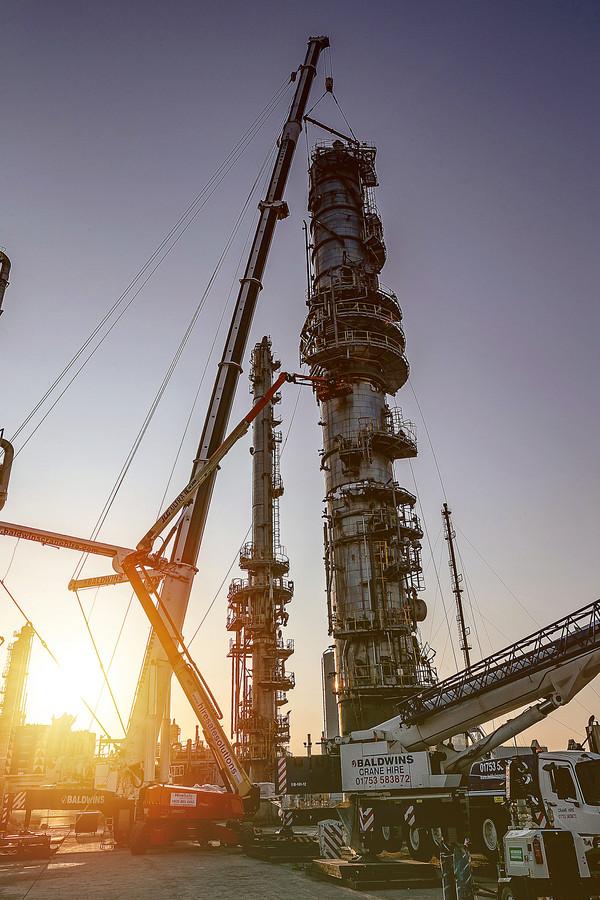 Site Construction Saltend Chemicals Park