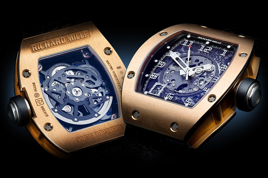 Richard Mille Gents Watch Product Photography