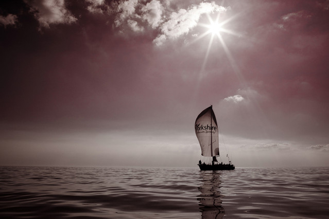Sailing Yacht - East Yorkshire Coast
