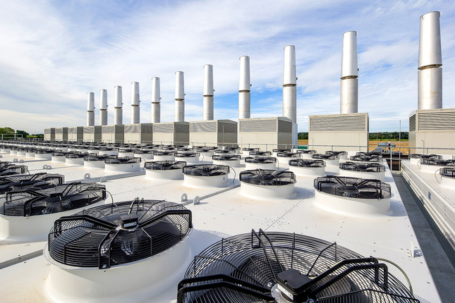 Gas Power Station Cooling tower