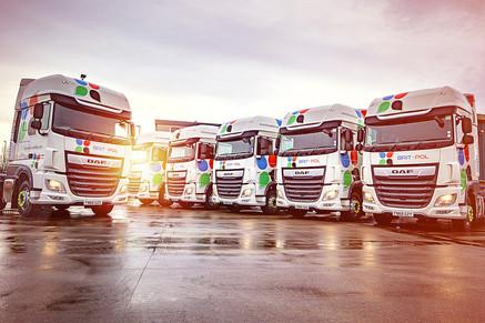 Brit-Pol DAF Trucks