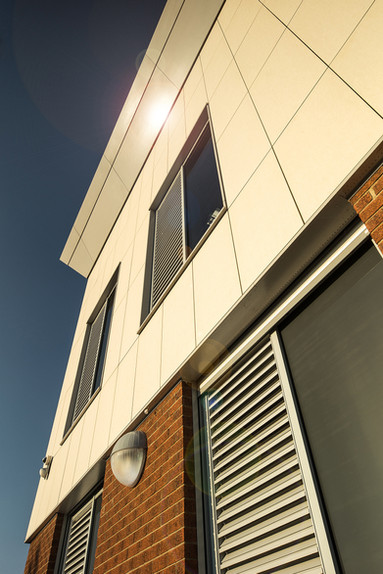 External Cladding Panels, Hull