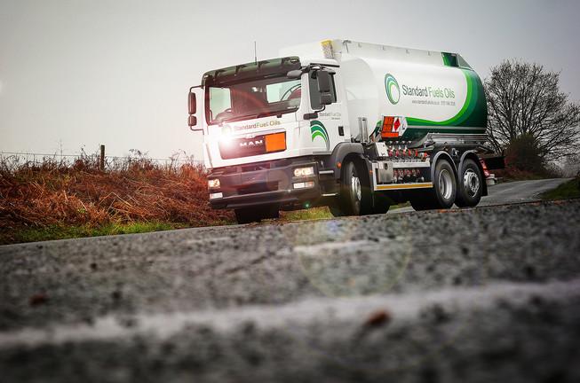 Standard Oils Fuel Tanker - MAN Truck Chassis