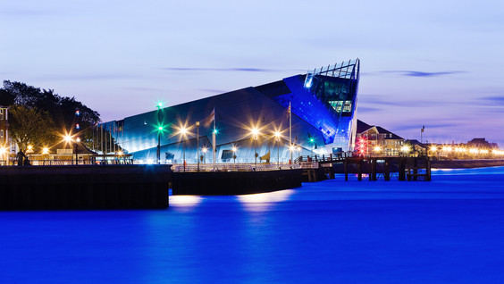 The Deep, Hull, on the river Humber