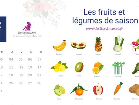 Légumes & fruits : Pourquoi manger des produits de saison ?