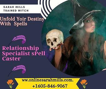 Sarah Mills Love Spells