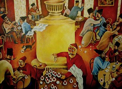 Tea house - day