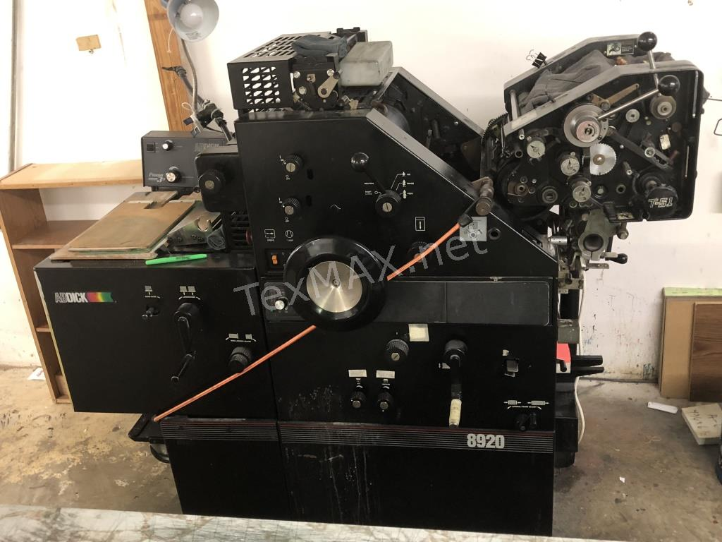 Printing Company Auction