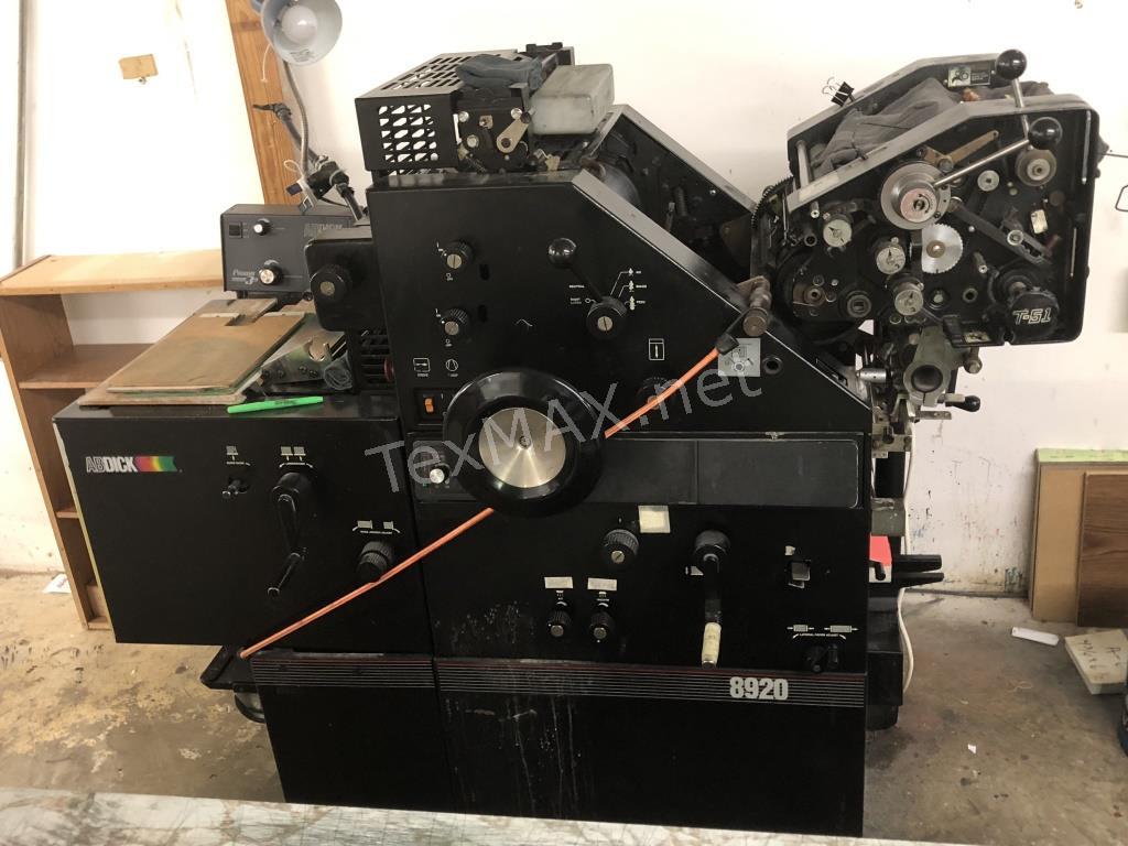 Printing Company Auction