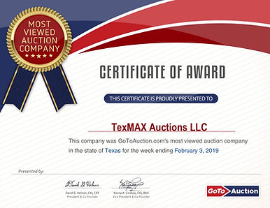 Most Viewed Auction Co.