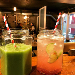 Healthy smoothie 🥦 or homemade lemonade