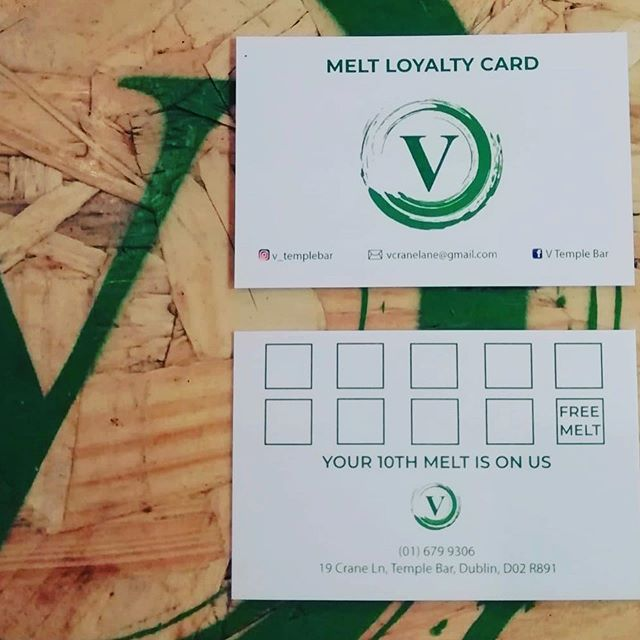 ✅Melt loyalty card ✅👉🏼👉🏼 Swipe to se