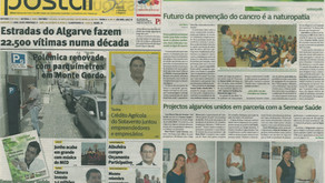 CASA BRAVA no jornal Postal do Algarve