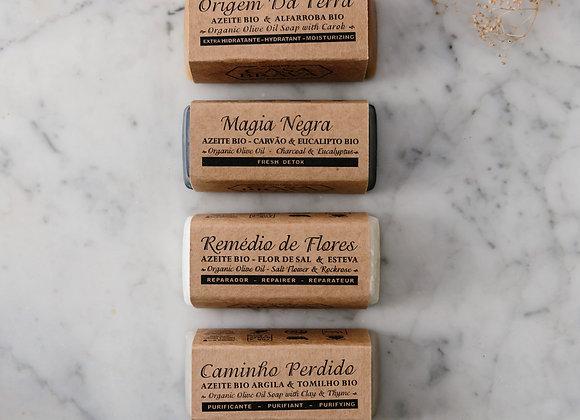 Pack 6 sabonetes formato tradicional