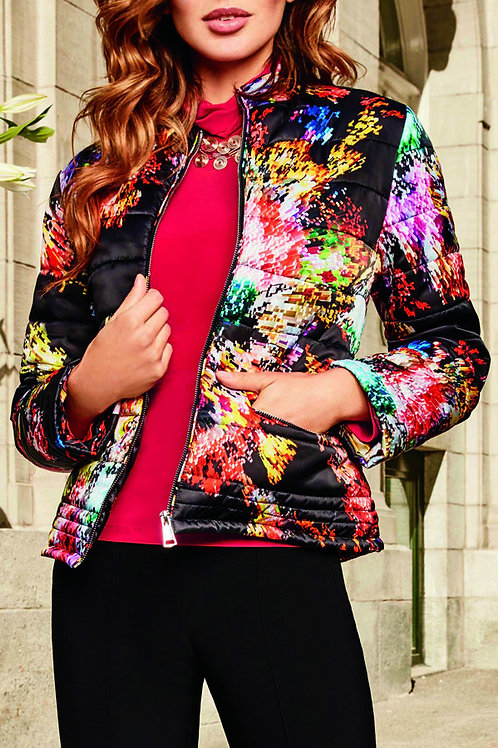 Frank Lyman Quilted Jacket