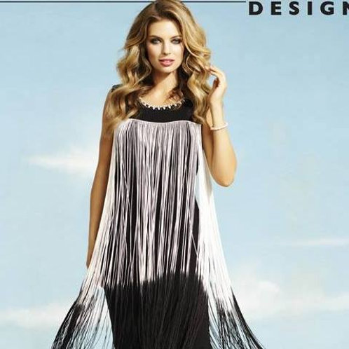 Frank Lyman Fringe Dress
