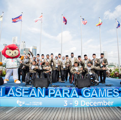ASEAN PARA GAMES 2015 Team Welcome Ceremony