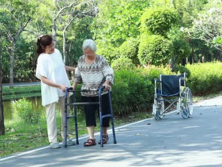 Are you (or your family member) using your Walking Aids correctly?