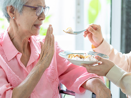 Is your elderly family member a fussy eater?