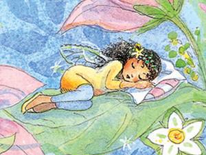 Sleeping Fairy Art