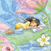 Sleeping Fairy Art