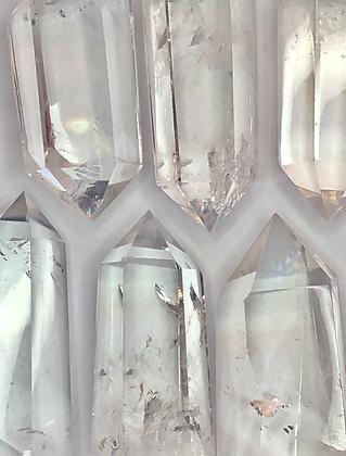 Cuarzo Cristal Obeliscos