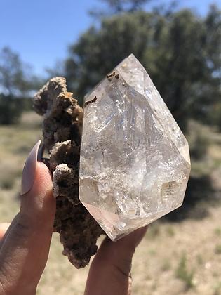 Diamante Herkimer extra grande #1