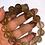 Thumbnail: Pulsera cuarzo rutilado dorado