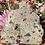 Thumbnail: Calcopirita iridiscente con siderita natural