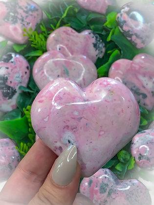 Rodonita corazones