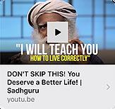 Sadhuguru-I will teach you how to live l