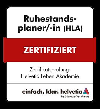 HEL Akademie-Siegel Ruhestandsplaner RZ