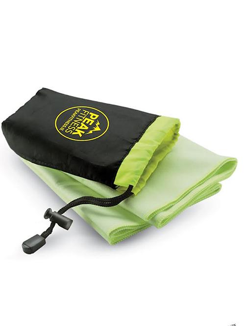 Lime Green Microfibre Towel
