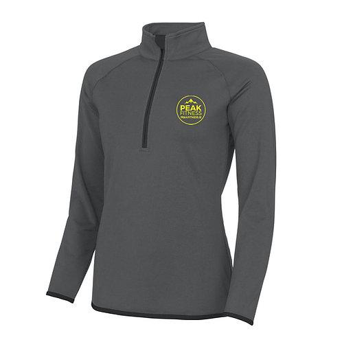 1/2 Zip Ladies Sweatshirt