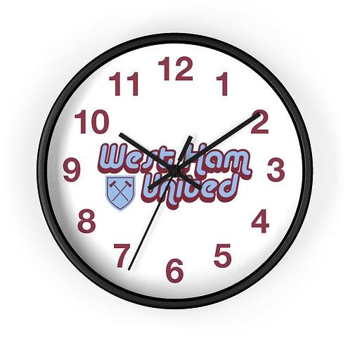 1960's West Ham Wall clock