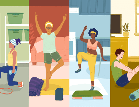 The Best At-Home Workouts for Busy People