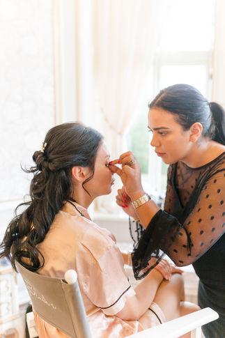 Bridesmaid makeup by Honeyblush