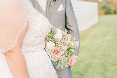 Bride and Groom wedding portrait
